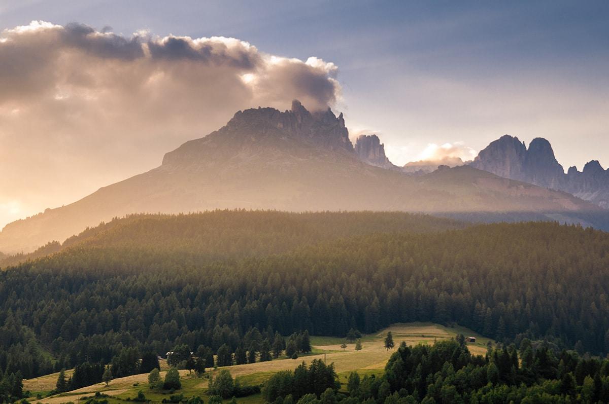 Traveling from Lake Garda to the Dolomites