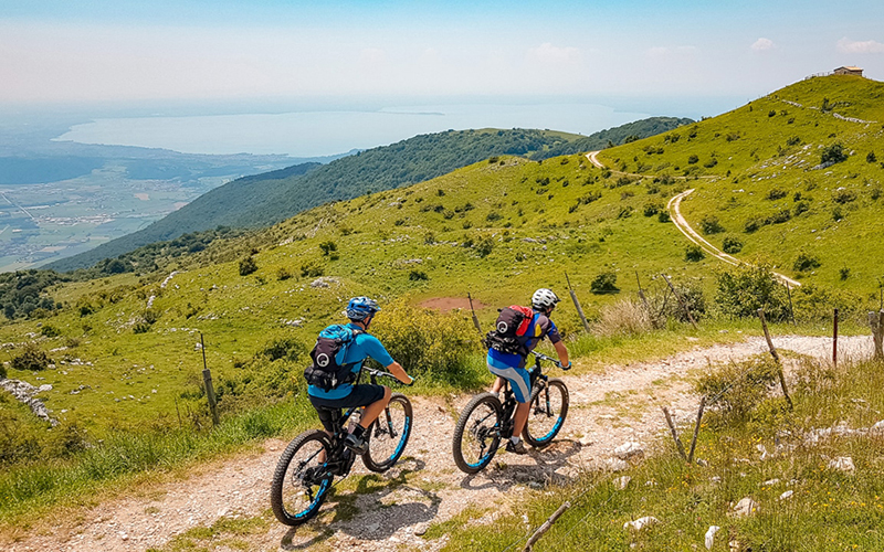 E-Mountain Bike Adventure in Lake Garda
