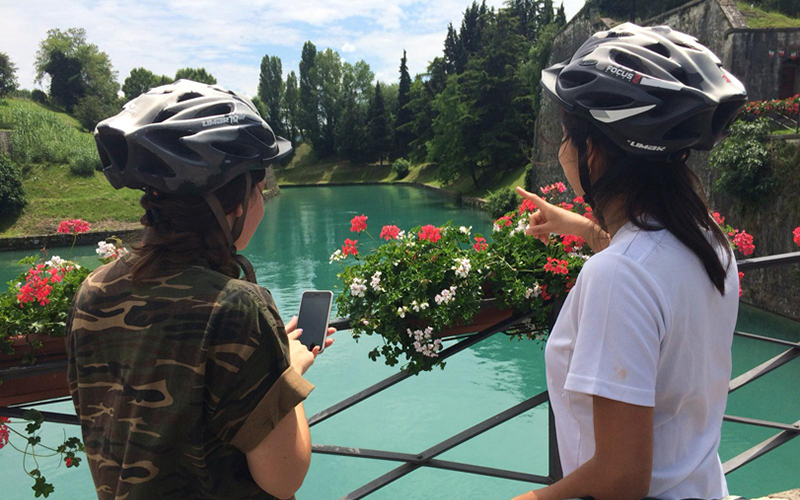 """Discover the secret of """"Love knot"""" and ride along Mincio river"""