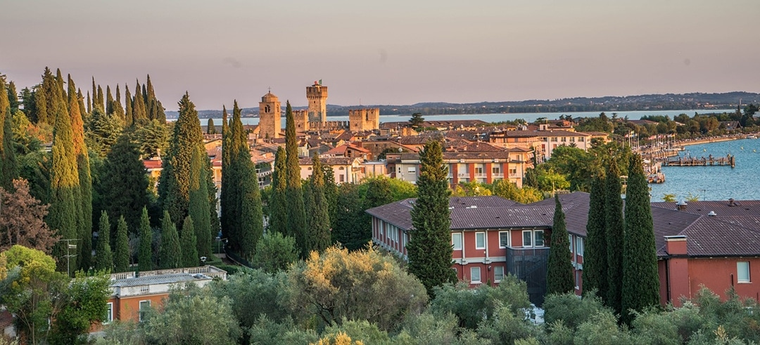 lake garda view from sirmione