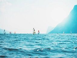 water sports in lake garda