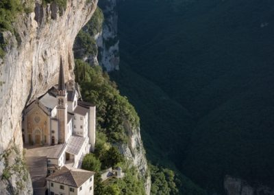 Between heaven and earth: Sanctuary of Madonna della Corona