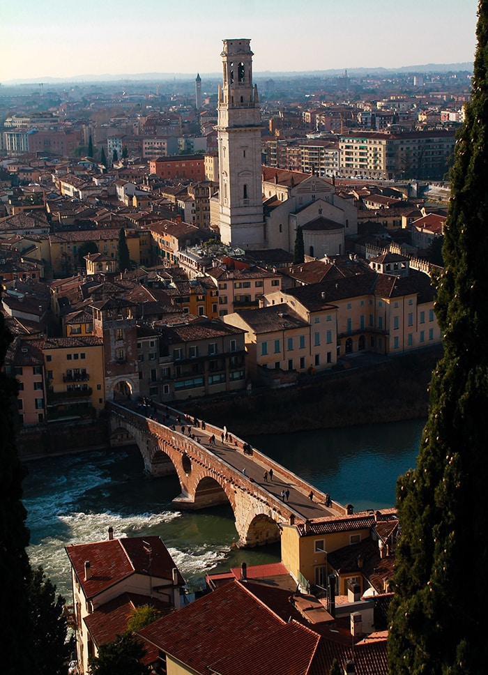 verona view from above