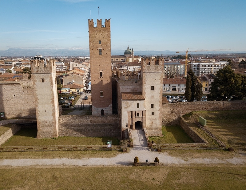 Villafranca castle in Romeo and Juliet by Shakespeare